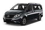 2021 Mercedes Benz Vito-Tourer - 5 Door Passenger Van Angular Front automotive stock photos of front three quarter view