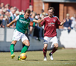 30.06.18 Linlithgow Rose v Hibs: Steben Whittaker and Roddy Maclennan