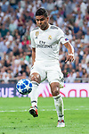 Real Madrid Carlos Henrique Casemiro during UEFA Champions League match between Real Madrid and A.S.Roma at Santiago Bernabeu Stadium in Madrid, Spain. September 19, 2018. (ALTERPHOTOS/Borja B.Hojas)
