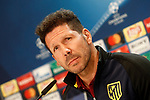 Atletico de Madrid's coach Diego Pablo Cholo Simeone in press conference before training session. May 9,2017.(ALTERPHOTOS/Acero)