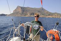 - Egadi Islands, the Favignana island....- Isole Egadi, l'isola di Favignana