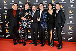 Team of Paquita Salas win the award at Feroz Awards 2017 in Madrid, Spain. January 23, 2017. (ALTERPHOTOS/BorjaB.Hojas)