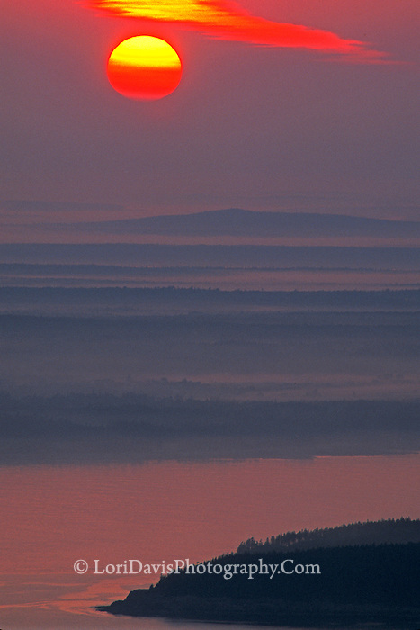 Sunrise from Summit of Cadillac Mt.  #A3