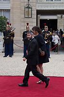 Paris (75)- Palais de l'Elysee- Ceremonie d installation de M. Emmanuel MACRON, PrÈsident de la RÈpublique, le dimanche 14 mai , le grand rabbin de France