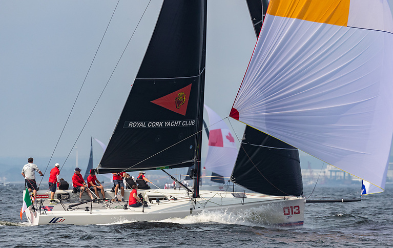 Royal Cork are third overall at the NYYC Invitational Cup at Newport, Rhode Island