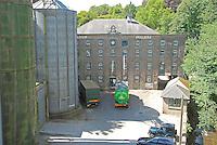 Laxey Glen Mills. Flour mill on the Isle of Man.