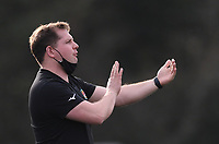 20th February 2021; Trailfinders Sports Club, London, England; Trailfinders Challenge Cup Rugby, Ealing Trailfinders versus Doncaster Knights; Ben Ward Director of Rugby for Ealing Trailfinders offers advice to his team