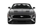 Car photography straight front view of a 2020 Ford Mustang GT Premium 2 Door Convertible