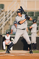 Bradley Suttle (24) of the Charleston RiverDogs at bat at Fieldcrest Cannon Stadium in Kannapolis, NC, Saturday July 19, 2008.
