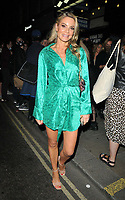 """Charlotte Jackson at the """"Back to the Future The Musical"""" press night, Adelphi Theatre, The Strand, on Monday 13th September 2021 in Londomn, England, UK. <br /> CAP/CAN<br /> ©CAN/Capital Pictures"""