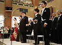 Annual concert at Tokyo's Mitsukoshi department store