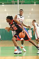 April 8, 2011 - Hampton, VA. USA; Brandon Bolden participates in the 2011 Elite Youth Basketball League at the Boo Williams Sports Complex. Photo/Andrew Shurtleff