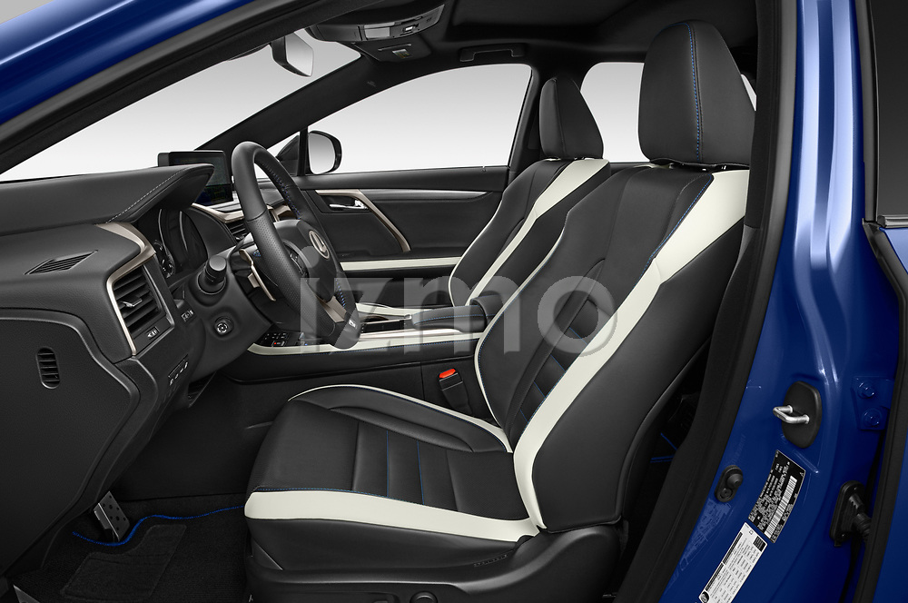 Front seat view of 2021 Lexus RX 450h-F-SPORT 5 Door SUV Front Seat  car photos
