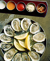 The waters around Prince Edward Island are home to six different varieties of oyster, so fresh, even the lemon seems superfluous.