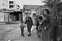 - district of shacks of 1908 earthquake in Messina ....- quartiere di baracche del terrremoto del 1908 a Messina
