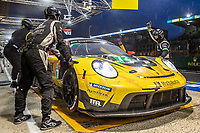 #72 Hub Auto Racing Porsche 911 RSR - 19 LMGTE Pro, Dries Vanthoor, Alvaro Parente, Maxime Martin, 24 Hours of Le Mans , Race, Circuit des 24 Heures, Le Mans, Pays da Loire, France