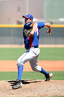Steven McKinnon - Texas Rangers - 2010 Instructional League.Photo by:  Bill Mitchell/Four Seam Images..