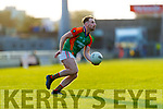 David Roche, Mid Kerry during the Kerry County Senior Football Championship Semi-Final match between Mid Kerry and Dr Crokes at Austin Stack Park in Tralee, Kerry.