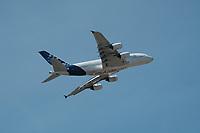 AIRBUS A380 - LE 52E SALON AERONAUTIQUE DU BOURGET, LE BOURGET, FRANCE, LE 19/06/2017.
