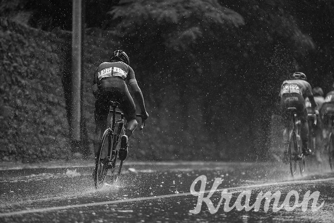 Aviv Yechezkel (ISR/Cycling Academy) spraying soem water around<br /> <br /> GP Jef Scherens - Leuven 2016