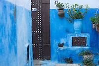 Afrique/Afrique du Nord/Maroc/Rabat: dans les ruelles de la kasbah des Oudaïa