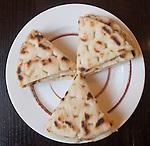 Pita Bread, The Real Greek Restaurant, Hoxton, London, Great Britain, Europe