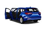 Car images close up view of a 2018 Ford Focus Clipper Titanium Business 5 Door Wagon doors