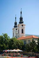 The Orthodox Cathedral in Sremski Karlovci, Serbia, Europe