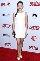 HOLLYWOOD, CA - JUNE 15: Aimee Garcia arrives at the premiere screening of Showtime's 'Dexter' Season 8 at Milk Studios on June 15, 2013 in Hollywood, California. (Photo by Celebrity Monitor)