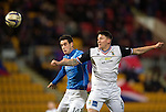 St Johnstone v Inverness Caledonian Thistle...20.12.14   SPFL<br /> Brian Graham and Josh Meekings<br /> Picture by Graeme Hart.<br /> Copyright Perthshire Picture Agency<br /> Tel: 01738 623350  Mobile: 07990 594431