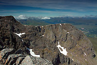 The summit of Ben Nevis, Britain's highest mountain, Lochaber