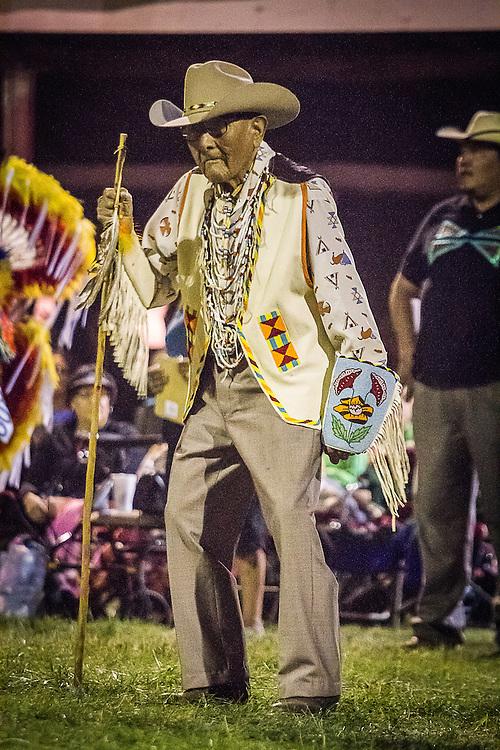 Dr. Joseph Medicine Crow 2012 Crow Fair Powwow