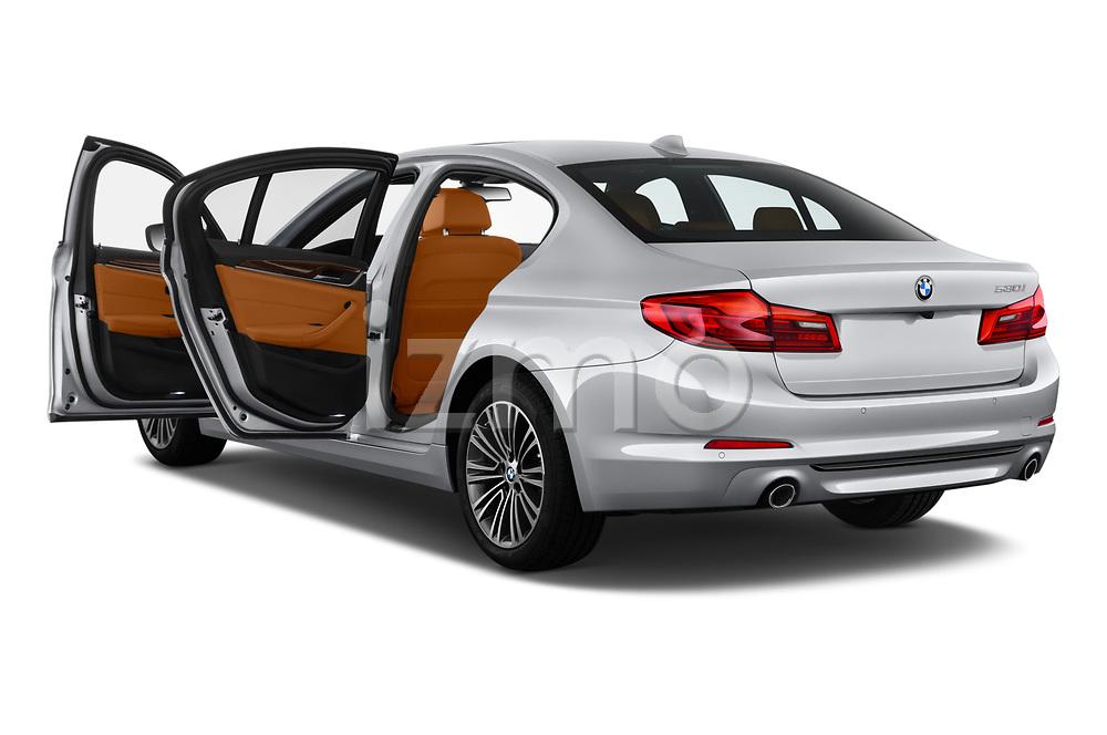 Car images of 2019 BMW 5-Series 530I-Sport-Line 4 Door Sedan Doors