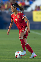 Spain's Leila Ouahabi during the match of  European Women's Championship 2017 at Leganes, between Spain and Finland. September 20, 2016. (ALTERPHOTOS/Rodrigo Jimenez) NORTEPHOTO