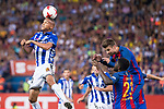 Deportivo Alaves's XXX and FC Barcelona's XXX during Copa del Rey (King's Cup) Final between Deportivo Alaves and FC Barcelona at Vicente Calderon Stadium in Madrid, May 27, 2017. Spain.<br /> (ALTERPHOTOS/BorjaB.Hojas)