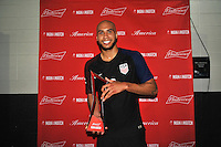 Philadelphia, PA - June 11, 2016: USA defender John Brooks (6) during a Copa America Centenario Group A match between United States (USA) and Paraguay (PAR) at Lincoln Financial Field.