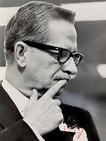 Johnson; Daniel - Portraits<br /> <br /> 1967<br /> <br /> PHOTO :  Frank Lennon - Toronto Star Archives - AQP