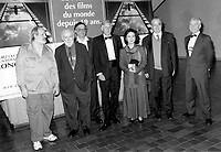 Montreal (Qc) CANADA - 1995 File Photo -<br /> <br /> Brian DePalma , Jury member on opening night.<br /> <br /> <br /> photo (c) Pierre Roussel - Images Distribution