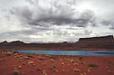 POTASH MINING POND<br /> NEAR CANYONLANDS NATIONAL PARK AND MOAB, UTAH