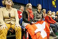 11-02-13, Tennis, Rotterdam, ABNAMROWTT, Roger Federer training