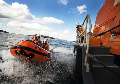 File image of Dun Laoghaire RNLI's inshore and all-weather lifeboats