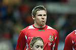 Nationwide Friendly International Wales v Sweden at the Liberty Stadium in Swansea : Wales' Simon Church...