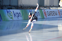 SPEED SKATING: COLLALBO: Arena Ritten, 11-01-2019, ISU European Speed Skating Championships, training, Vanessa Herzog (AUT), ©photo Martin de Jong