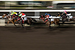 Jockey Dylan Mo Hin-tung (2nd/L) riding Turin Pearl during the race number 7 at Sha Tin racecourse on November 1, 2017 in Hong Kong, China. Photo by Marcio Machado / Power Sport Images