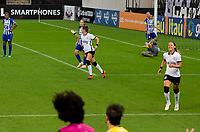São Paulo (SP), 06/12/2020 - CORINTHIANS-AVAIKINDERMAN - Crivellari, do Corinthians comemora o terceiro gol. Corinthians e Avaí Kinderman no segundo jogo da final do Campeonato Brasileiro Feminino 2020, na Neo Química Arena, neste domingo (06).