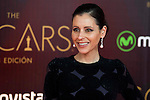 Yolanda Font attends to the photocall before the cocktail of the night of the Oscar of Movistar+ at Gran Teatro Principe Pio in Madrid. February 28, 2016. (ALTERPHOTOS/BorjaB.Hojas)