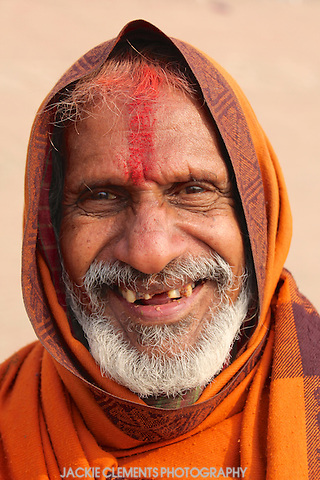 This friendly gentleman was a wonderful conversationalist, strolling along the banks of the Ganges River with a big smile for all he met.