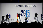 """XXX during the main event of the XV Aniversary of the """"20Minutos"""" newspaper at Headquarters of the Community of Madrid, November 24, 2015<br /> (ALTERPHOTOS/BorjaB.Hojas)"""
