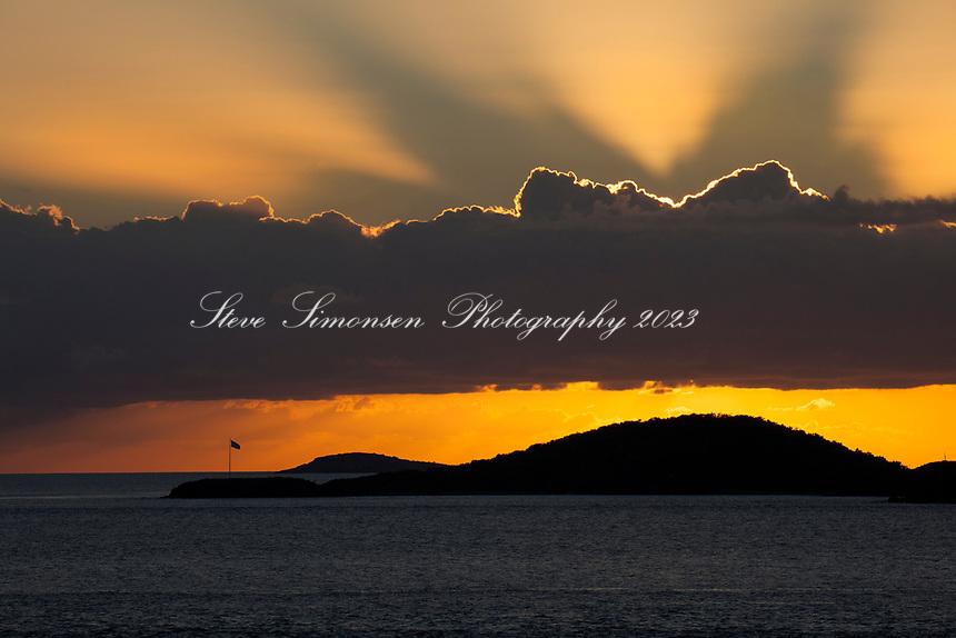 Virgin Island Sunset