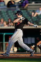 May 31 2009: Jason Van Kooten of the Modesto Nuts during game against the Lancaster JetHawks at Clear Channel Stadium in Lancaster,CA.  Photo by Larry Goren/Four Seam Images